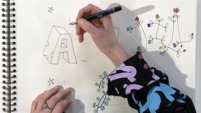 Technisch tekenen letters