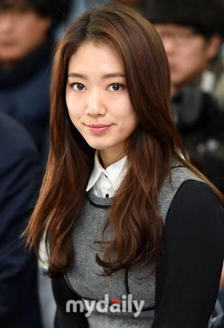 Park Shin Hye. She looks so different with long hair!