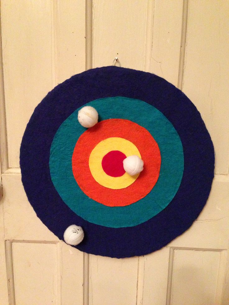My Velcro felt dartboard I am so disappointed I made