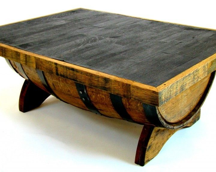 Whiskey Barrel Coffee Table | Whiskey Girls and Craft Beer ...
