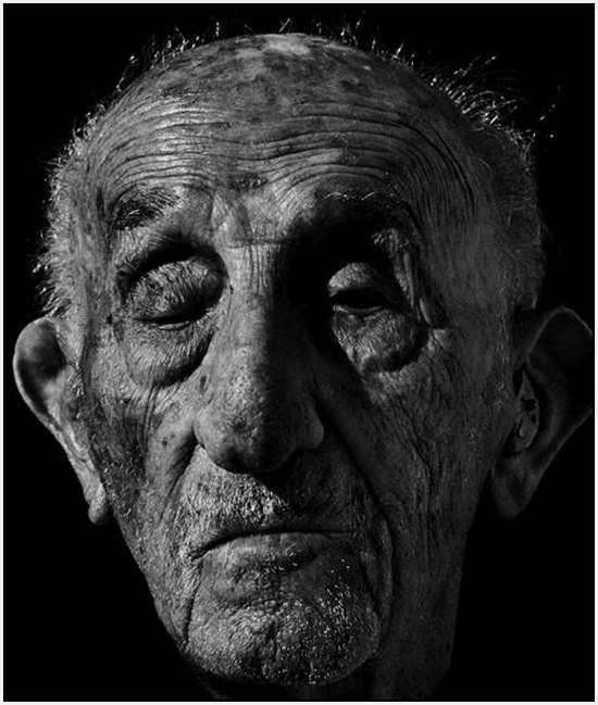 Mark Story 'The Face of the Age', a series of images featuring  centenarians
