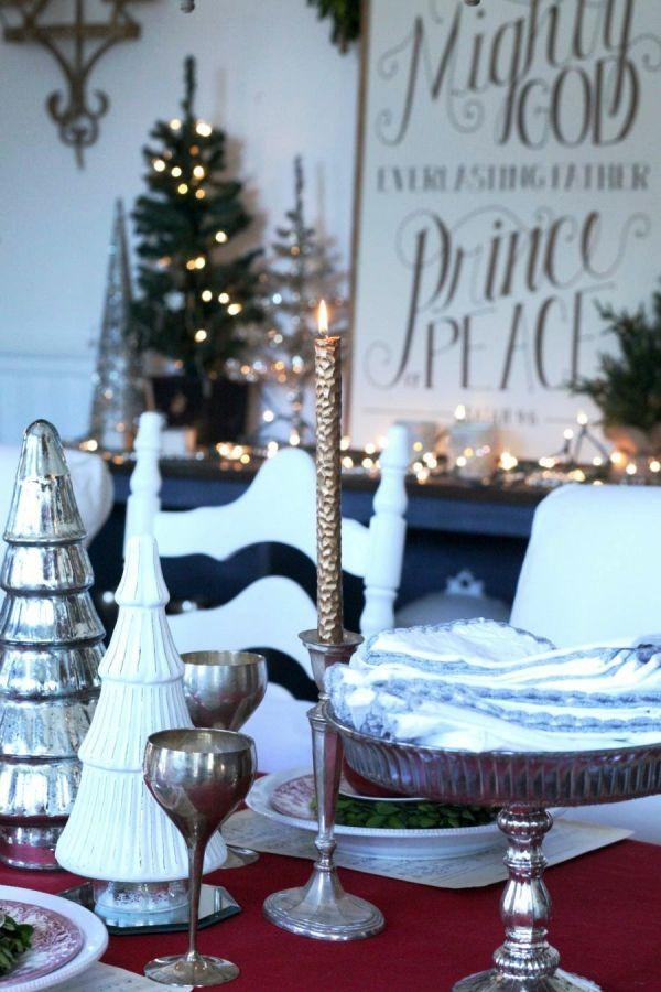 75 Moderne Weihnachtliche Tischdeko Vorschlage Fur Ein Stilvolles