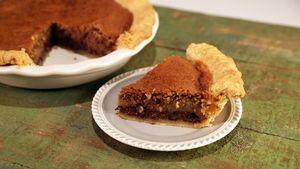 Kentucky Derby Pie: Chocolate Pecan Pie Recipe   The Chew - ABC.com