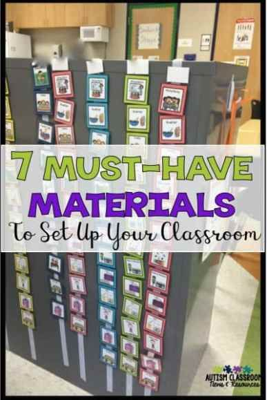 7 Should Have Supplies to Get Your Particular Ed Class Working