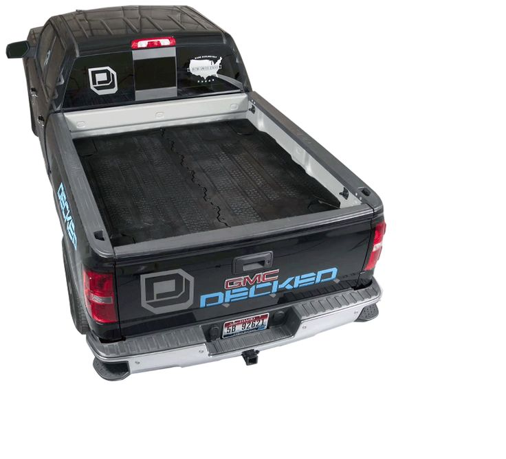 Truck Bed Storage - Work and Play Cargo Organizers | Decked