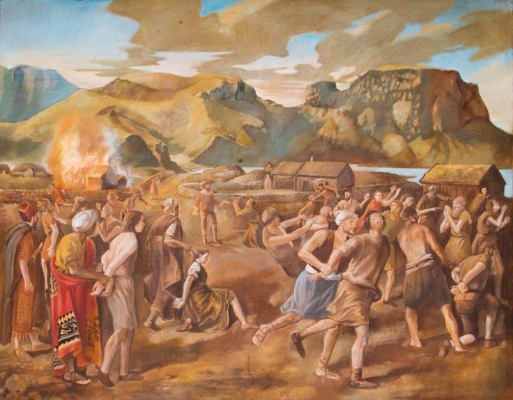 1627 yılında İzlanda'ya sefer yapan Jan Janzsoon , adayı yağmalayarak 400 kişiyi esir almıştı.