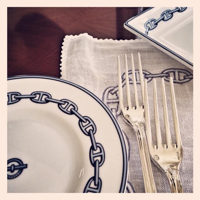 Hermes tablewear at Mardan-Palace Hotel, Antalya