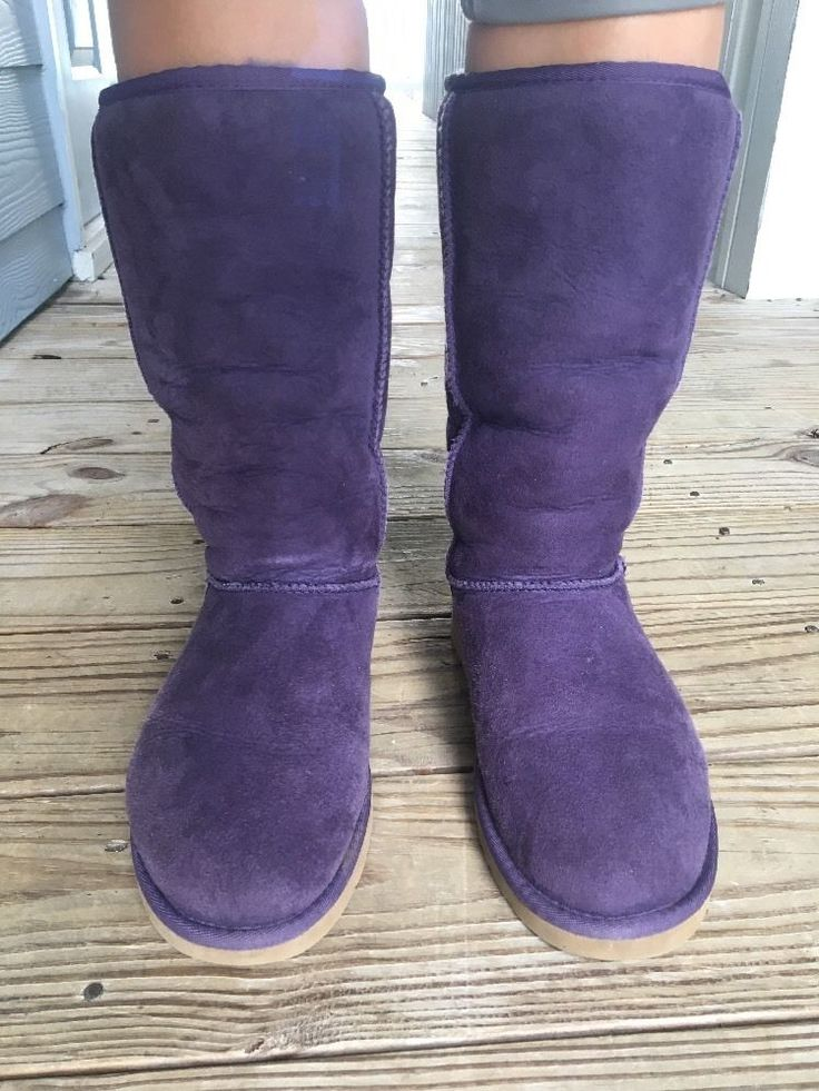 Save on the winter trends Purple Original Ugg Boots In Amazing Condition Women's Size 7 Winter Boots Uggs  #UGGAustralia #Original