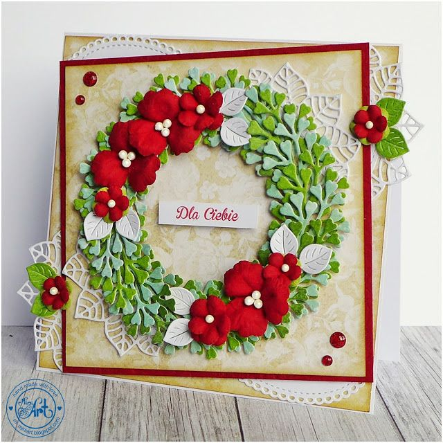 MiniArt - hand made with love: Wianki / Wreaths - DT Craft Passion