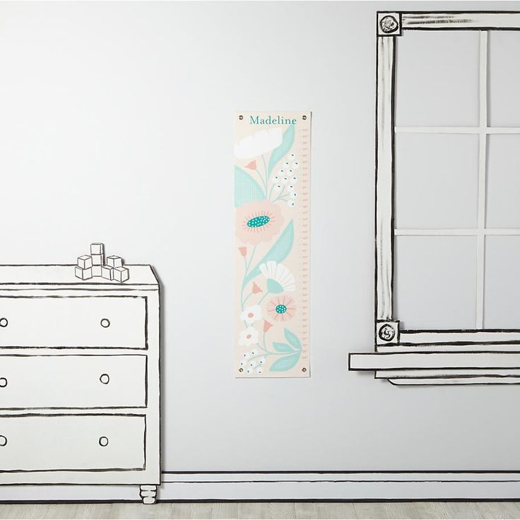 Soft Modern Growth Chart  | The Land of Nod