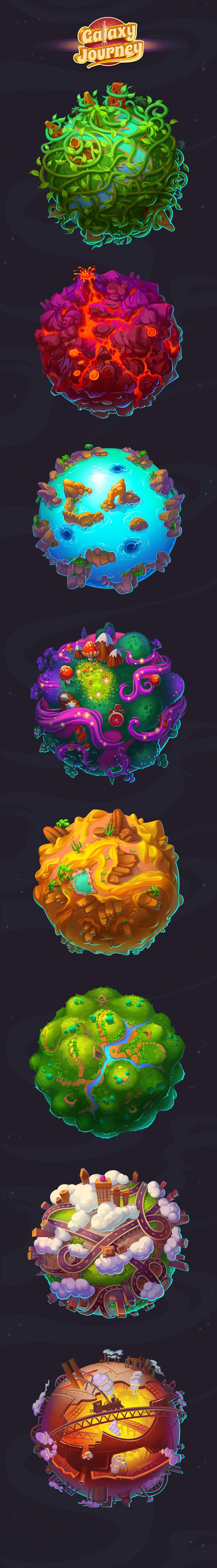 Galaxy Journey on Behance