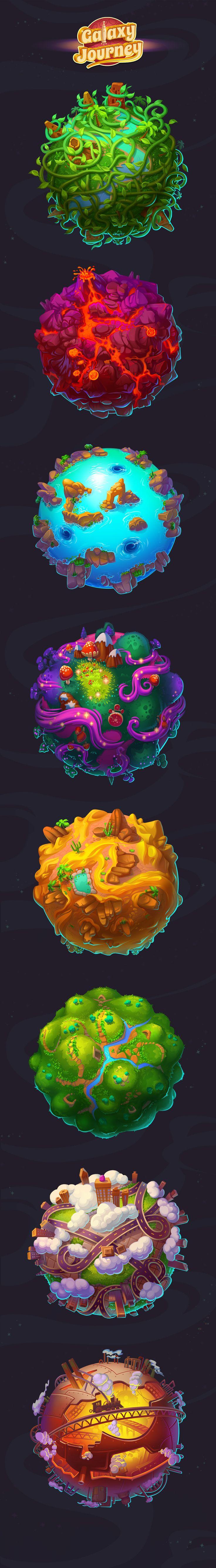 Galaxy Journey on Behance
