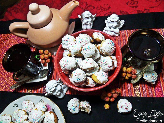 """Мини-печенье """"Дуняшкина радость"""". Очень вкусное печенье, порадуйте своих родных таким вкусным дополнением к утреннему чаю! #едимдома #готовимдома #выпечка #печенье #рецепты #вкусно #кчаю #домашняяеда"""