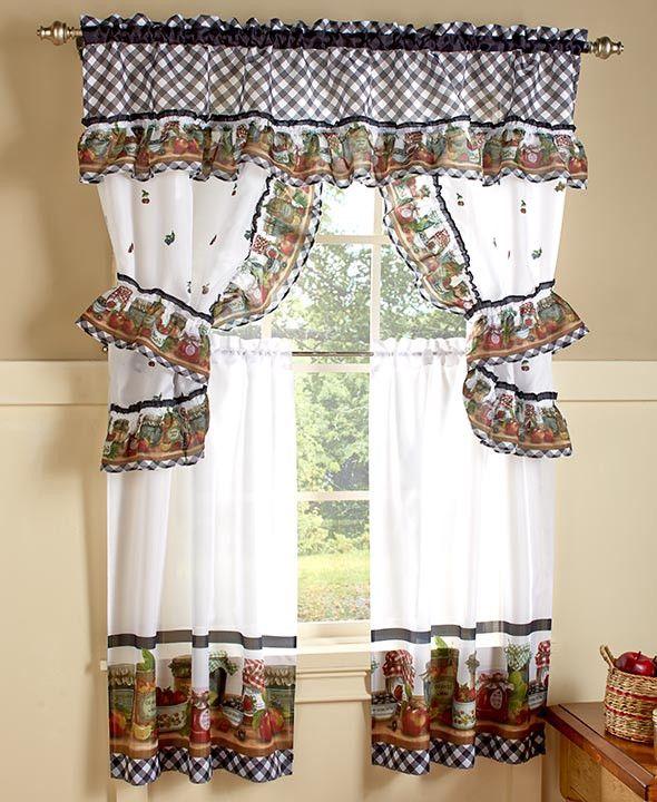 Kitchen Curtains Ideas Pinterest: Best 25+ Country Kitchen Curtains Ideas On Pinterest