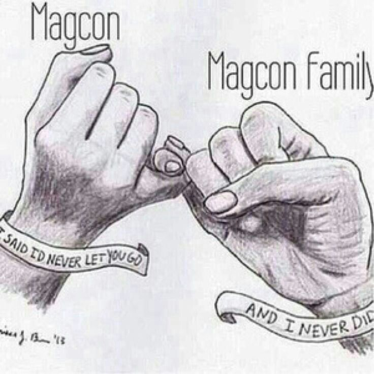 Magcon family for life