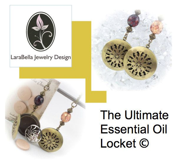 Ultimate Essential Oil Diffuser Locket© with diffuser insert - Limited time FREE Refill gift included 219943DAS by LaraBellaJewelry on Etsy