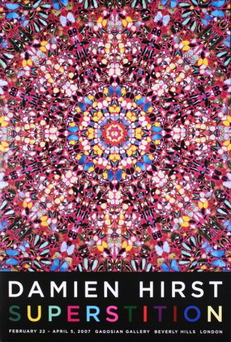 Superstition by Damien Hirst. Collectable print from Art.com.