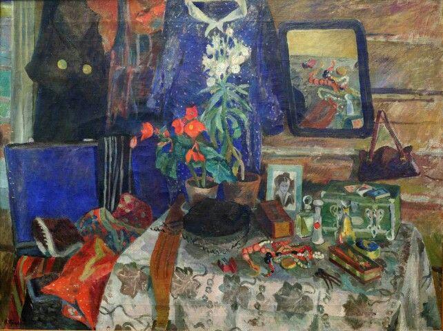 Прокошев Николай Иванович (1904 - 1938) Комната сестры. 1937