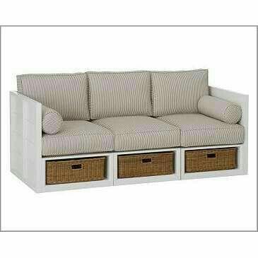 Sofa have a storage boxes ..I like this idea