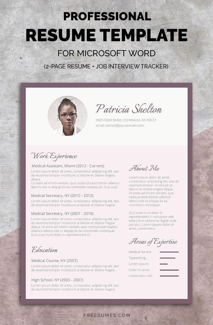 Complete Resume Set | The Creative Flair #resumetemplate #feminine #pack