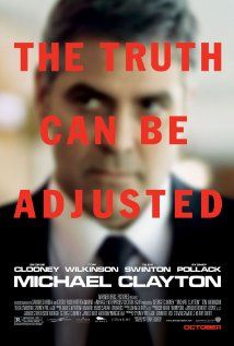 Michael Clayton: Clooney at his best as a hot-shot corporate lawyer. The story is superb. @Vartika Agarwal
