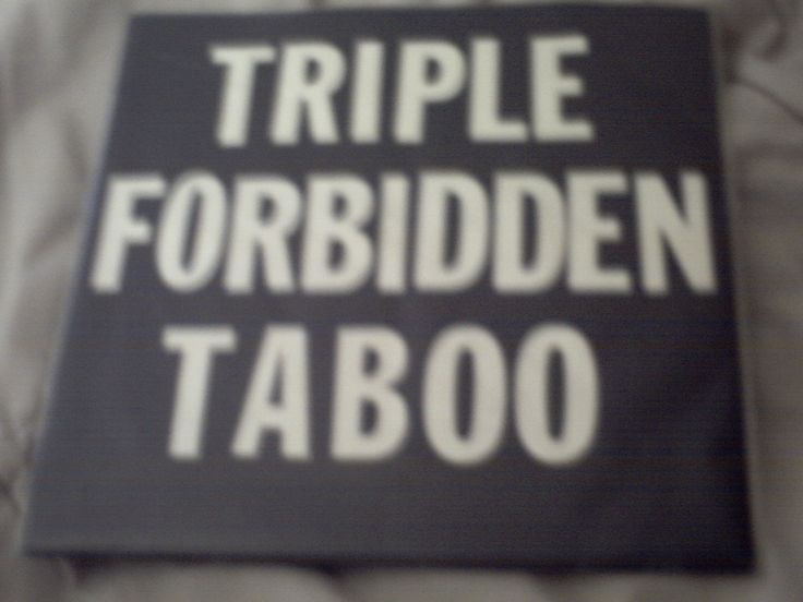 33 and 1/3 rpm single 1. SKYDIVING IN MY HEART 2. HOLLYWOOD STUNTMAN  TRIPLE FORBIDDEN TABOO!!