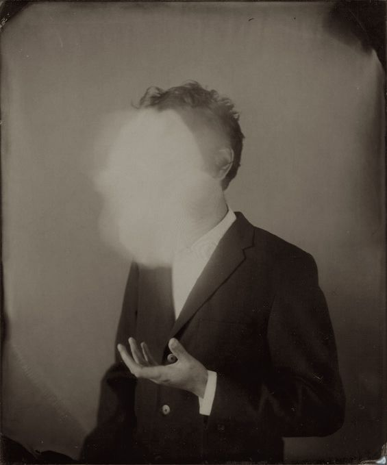 Ben Cauchi - Self-Portrait with Ghosted Object