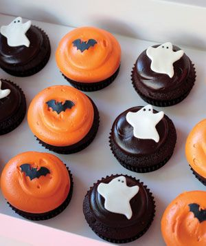 8 spooky halloween treats - Halloween Decorations Cupcakes