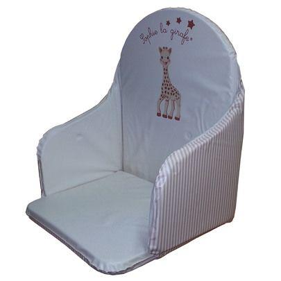Coussin de chaise PVC Sophie la Girafe Beige de Babycalin