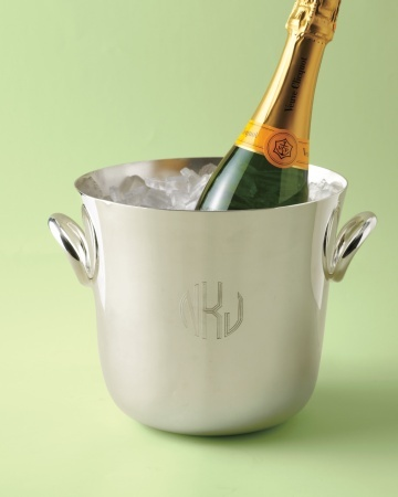 silver Champagne coolerMonograms Registry, Silver Champagne, Fashion Design, New Fashion, Luxe Silver, Bubbles Coolers, Coolers Liter, Wedding Registry, Champagne Coolers