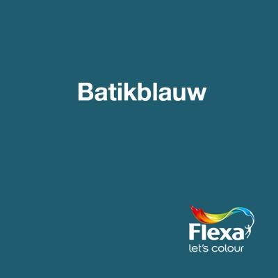 Collectie: HomeMade Kleur: Batikblauw URL: http://www.flexa.nl/nl/kleur/batikblauw/
