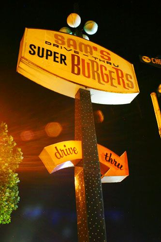 Sam's Super Burgers, San Leandro, CA  can't wait to be back home and grab some grub