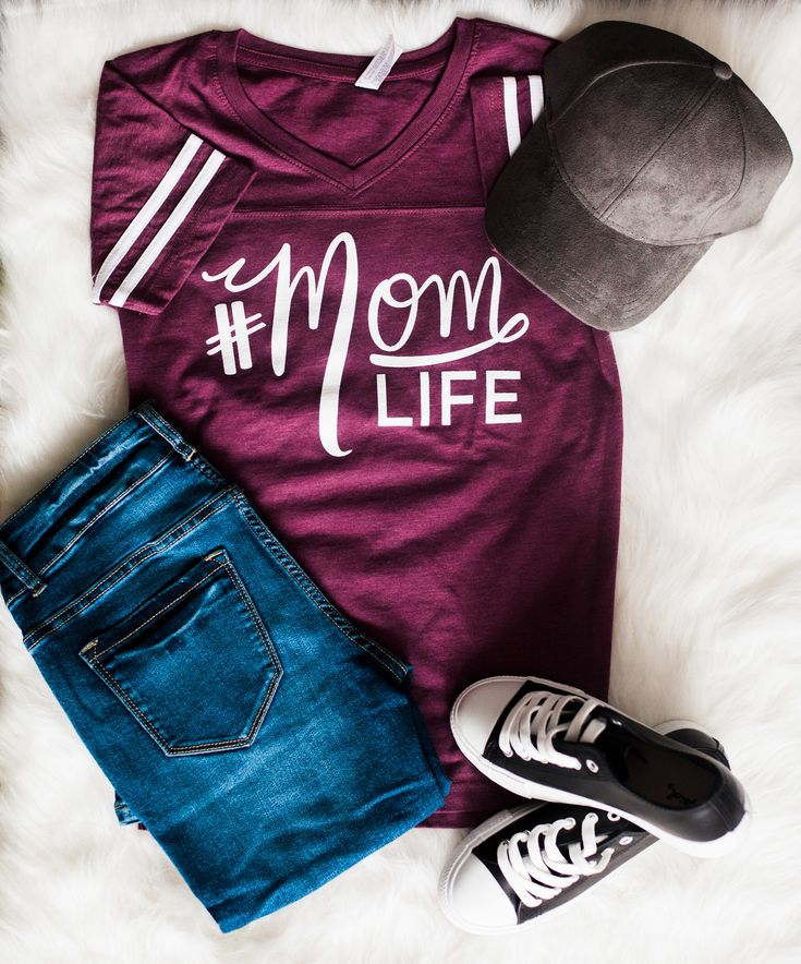 Mom life, flat lay, suede hat, baseball hat, graphic tee