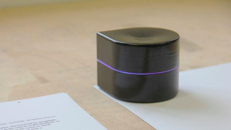 Pocket Printer: Ein kleiner Roboter als mobiler Drucker