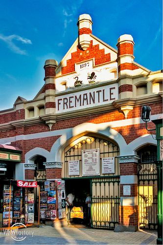 Fremantle Market, Western Australia (built in 1897) by David Naylor // one of my favorite places