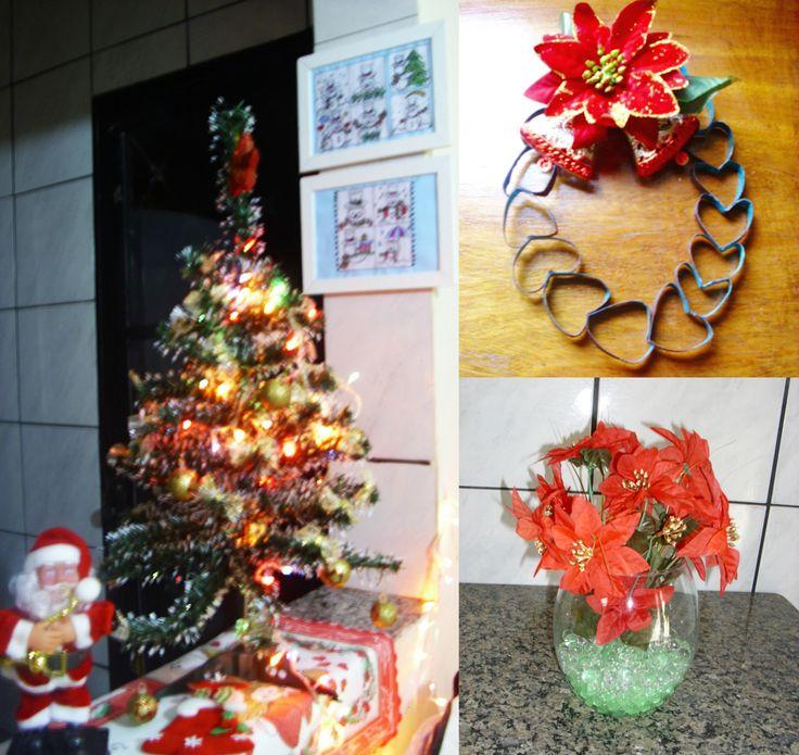 3 DIYS FÁCEIS para decorar a casa para o Natal: Porta retrato boneco de neve, Vaso, Guirlanda de papel higiênico