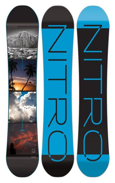 Nitro Team Gullwing Wide Exposure Snowboard 2016  The Board Basement for years and years for proven reliability and a flawless great ride. This particular model is the Gullwing rocker version which is reverse camber between the feet and then standard camber in the tips which gives a great playful feel without being too loose. #snowboard #snowboarding #nitroteamgullwingwideexposure2016 #allmountain