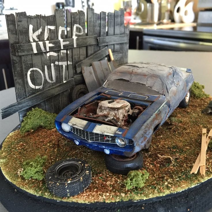 Forgotten In The Weeds - Scale Auto Magazine - For building plastic & resin scale model cars, trucks, motorcycles, & dioramas