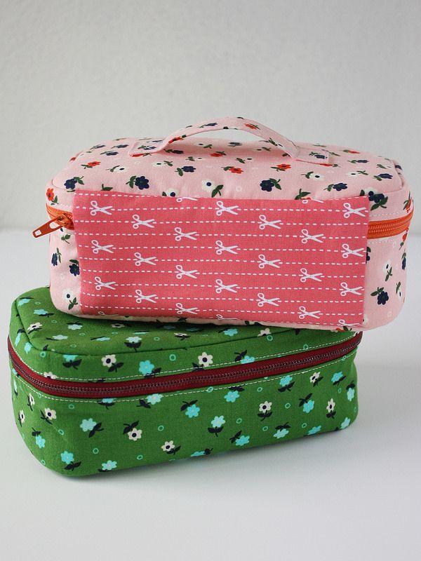 The Tiny Box Zippy - A PDF Sewing Pattern! // Michael Ann Made