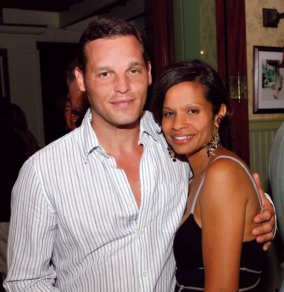 Happily married husband and wife: Justin Chambers and Keisha Chambers