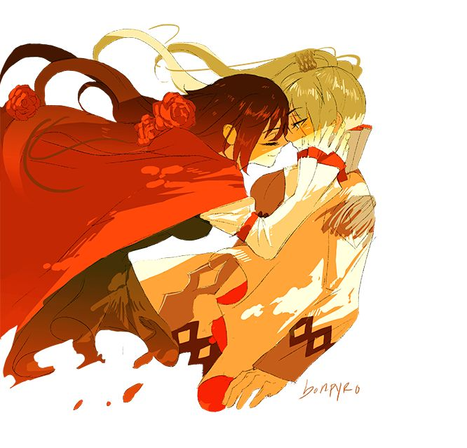211 best ruby and weiss white rose images on pinterest - Ruby rose rule 34 ...