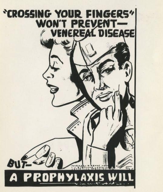 U.S. Military propaganda fighting STDs