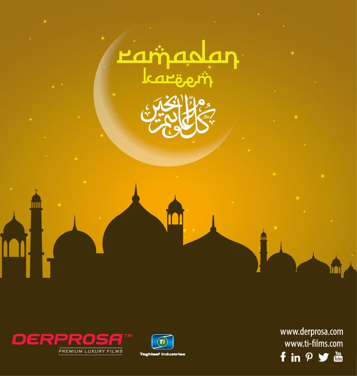 #Celebrating #Ramadan 2016 . Derprosa-Ti wishing you the holy fasting month of Ramadan, starting on Monday June 6.