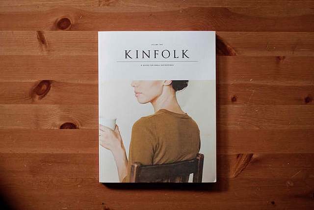 Meaning book - Kinfolk.