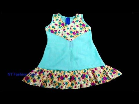 b4fb2b308109 How to learn baby simple dress for beginners | Learn newborn baby dress easy  guides - YouTube