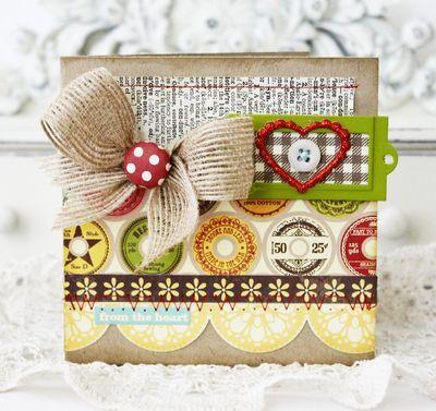 sweet card {love the bow!} @Jillibean Soup