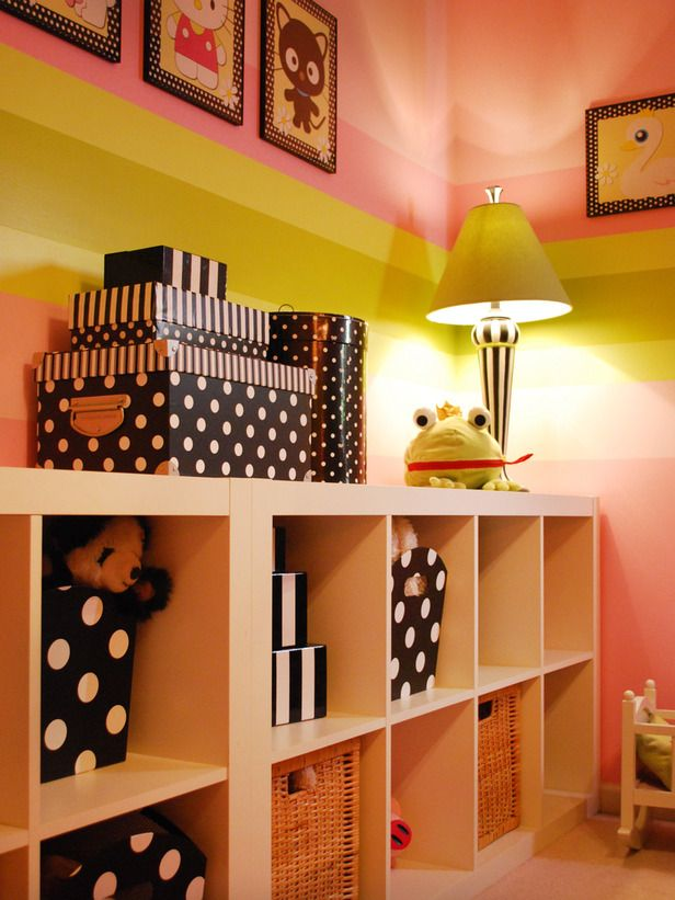 wall storage          Toddler to Teen: 15 Clutter-Busting Kids' Rooms : Rooms : Home & Garden Television