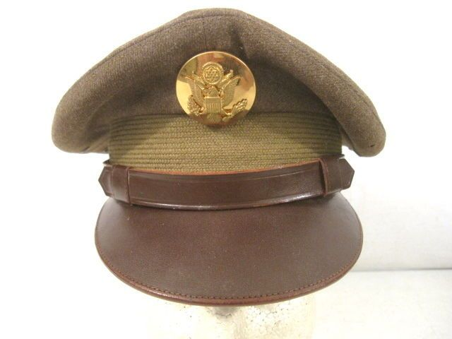 "WWII US Army Air Force AAF Enlisted  ""Crusher"" Cap or Hat Size 6 5/8 - Original"