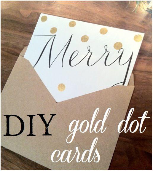 Super simple DIY Holiday Cards via The Social Home