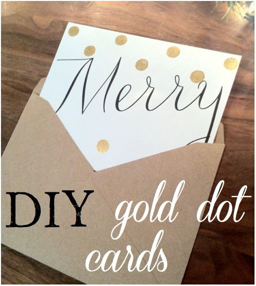 Super simple DIY Holiday Cards via The Social Home
